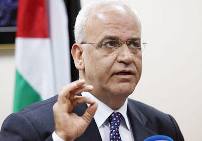 عريقات:استراتيجيتنا ترتكز على هدفين يؤكدان أن فلسطين أرض محتلة