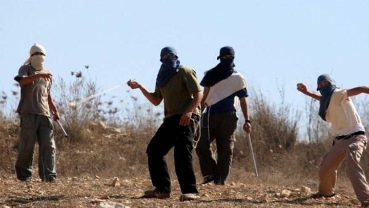 اصابة مواطنين إثر اعتداء للمستوطنين شمال رام الله