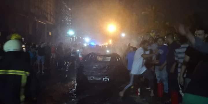 انفجار بالقاهرة يودي بحياة (17) مصريًّا