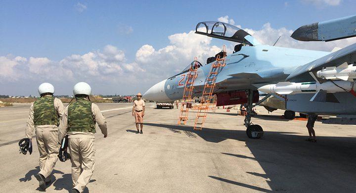 سوريا.. استهداف قاعدة حميميم الروسية بقذائف صاروخية