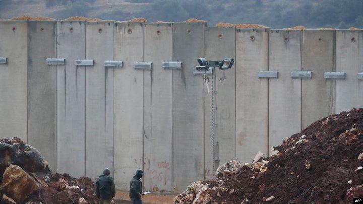 لبنان: الاحتلال يستأنف بناء جدار اسمنتي أقصى جنوب البلاد