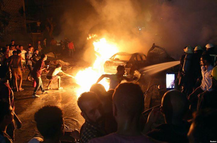 """داخلية مصر تكشف أن عملية إرهابية وراء حادث """"معهد الأورام"""""""