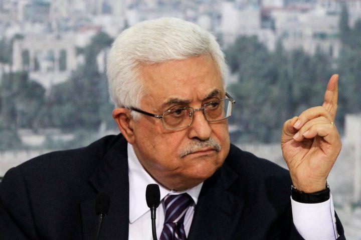 الرئيس محمود عباس يدين العمل الارهابي الذي وقع في القاهرة