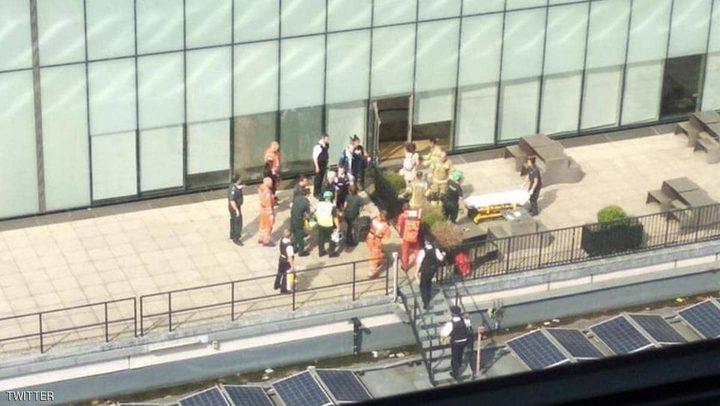 شاب يلقي بطفل من الطابق العاشر في معرض لندن
