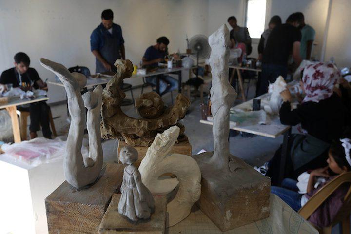 في قطاع غزة...نماذج شابة تصدر الإبداع من خلال الفن التشكيلي