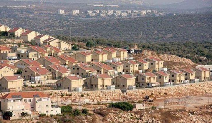 """خطط جديدة تضم""""2300"""" وحدة استيطانية بالضفة الغربية"""