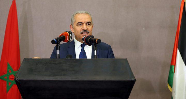 اشتيه يدعو الدول الملتزمة بحل الدولتين للاعتراف بدولة فلسطين