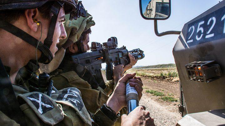 قوات الاحتلال تطلق النار على فلسطينيين شرق غزة