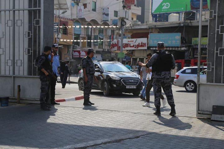 إجراءات أمنية مشددة في مستشفيات غزة