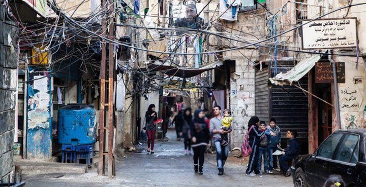 إستمرار المظاهرات الفلسطينية بلبنان ضد قرارات وزير العمل اللبناني