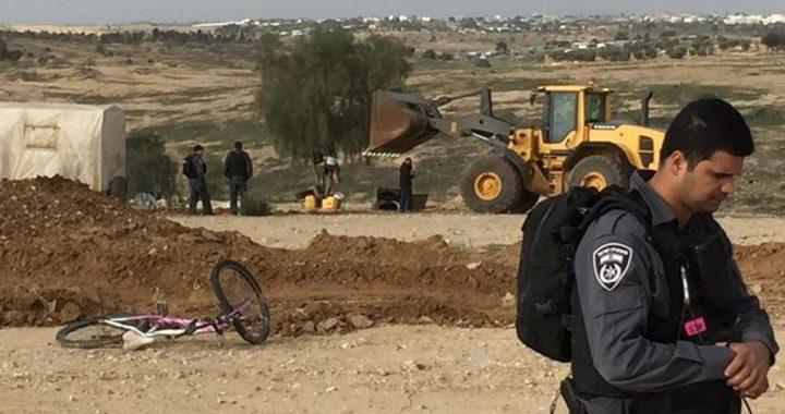 شرطة الاحتلال تعتقل مواطنا من العراقيب