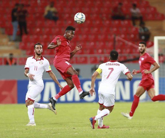 لبنان يتعادل سلبا مع فلسطين في منافسات غرب آسيا