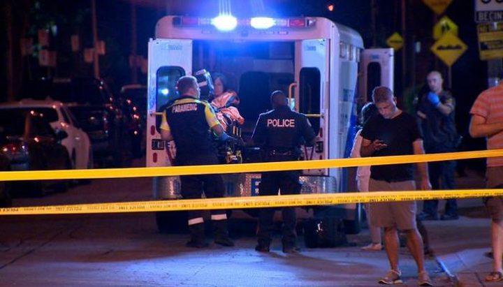 إصابة 7 أشخاص في حادث إطلاق نار في كندا