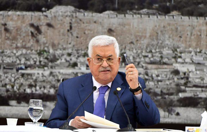 الرئيس يؤكد على حل الدولتين وفقا لقرارات الشرعية الدولية
