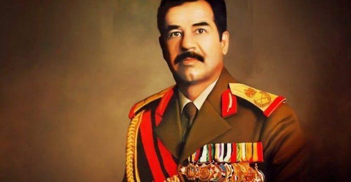 نائب عراقي يطلب وضع صورة الرئيس صدام حسين في قاعات البرلمان