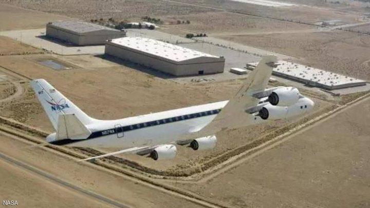 طائرة غامضة لناسا تحلق فوق كالفورنيا