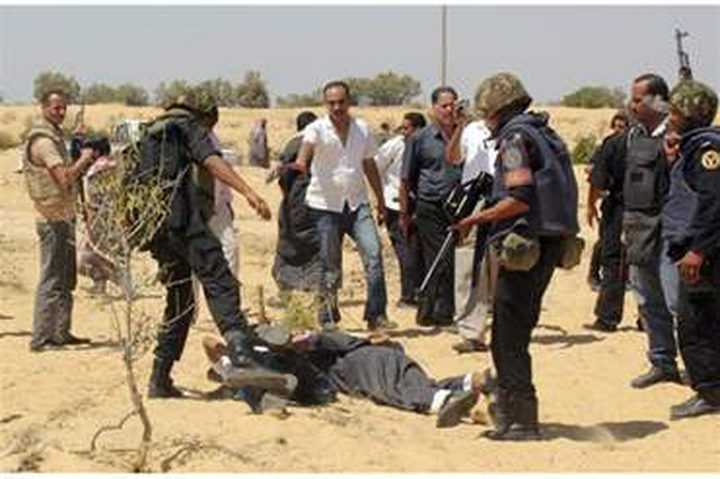 الأمن المصري يقتل 8 مسلحين في اشتباك مسلح