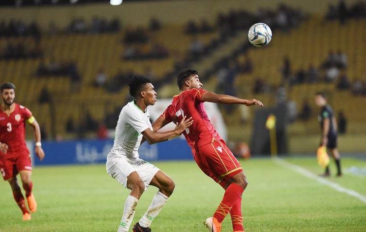 السعودية تتعادل مع البحرين في بطولة غرب آسيا