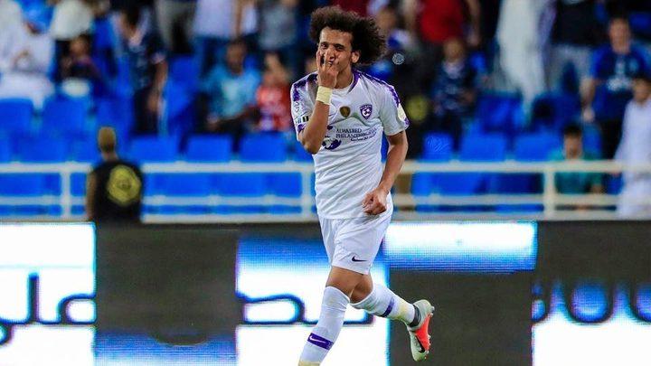 عمر عبد الرحمن ينتقل إلى صفوف نادي الجزيرة الإماراتي
