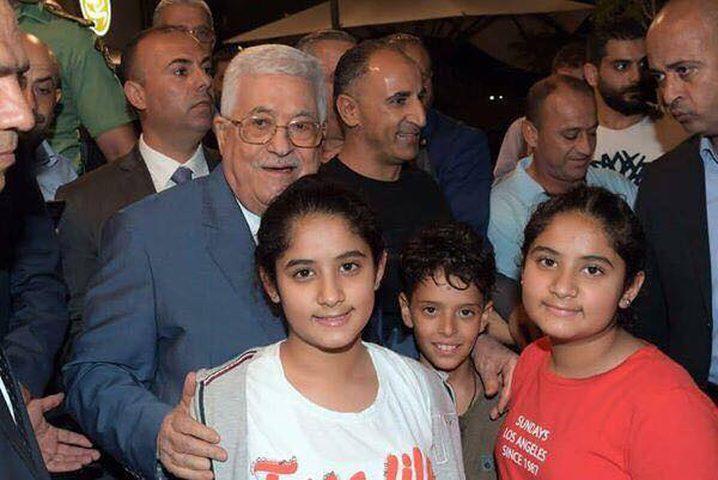 مع قرب العيد: الرئيس يتفقد أحوال المواطنين في رام الله