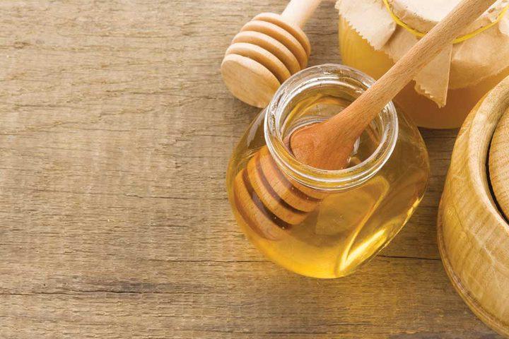 ماسك صودا الخبز والعسل