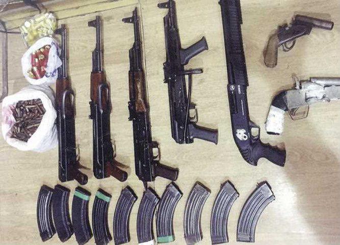 الأمن المصري يضبط كمية كبيرة من الأسلحة المهربة