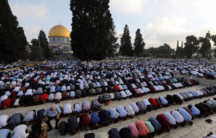 """تأخير صلاة العيد في """"الأقصى"""" للتصدي لاقتحامات المستوطنين"""