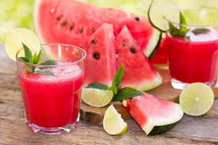 شراب البطيخ والحامض والنعناع