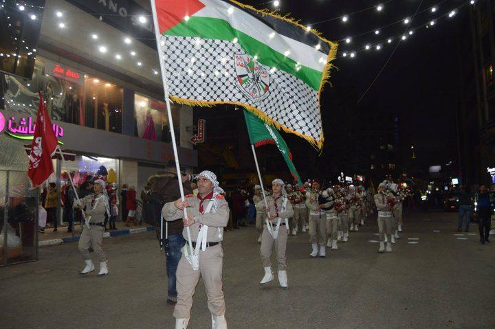فرق الكشافة تجوب شوارع رام الله والبيرة احتفالا بعيد الأضحى