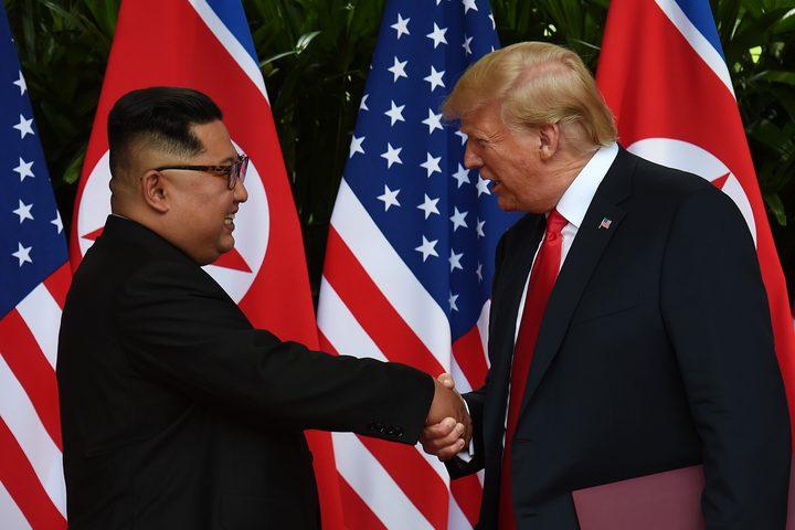 """ترامب: زعيم كوريا الشمالية اعتذر عن """"الصواريخ"""""""