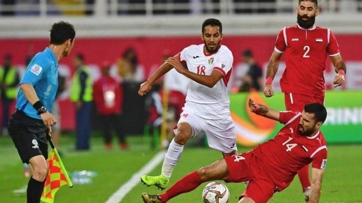 فوز المنتخب الوطني لكرة القدم على المنتخب السوري