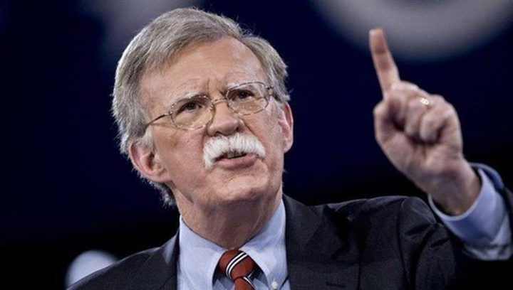 بولتون في لندن لحث بريطانيا على تشديد موقفها تجاه إيران وهواوي