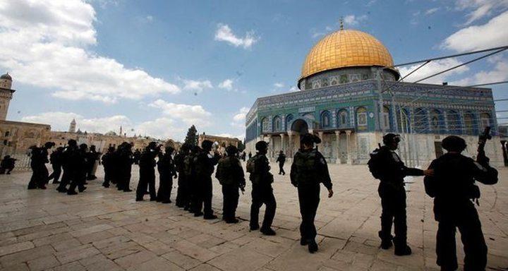 الأردن تطالب اسرائيل بوقف انتهاكاتها المستمرة بالمسجد الأقصى