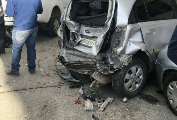 حوادث سير ذاتية بأول أيام العيد في قلقيلية