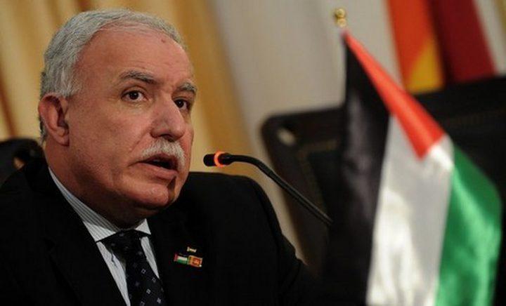 المالكي يطالب بتنفيذ اتفاقيات جنيف ووقف سياسيات الاحتلال