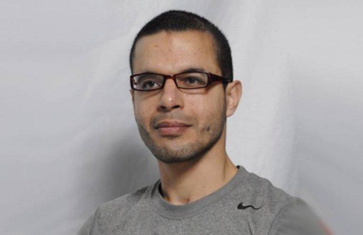 الأسير عرندس يدخل عامه الـ (19) في سجون الاحتلال