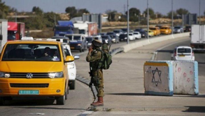 الاحتلال يمنع المواطنين من عبور حاجز الكونتينر شمال بيت لحم