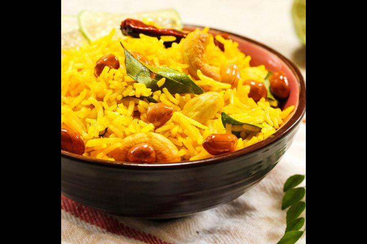 الأرز بالكاري ... سهل ولذيذ