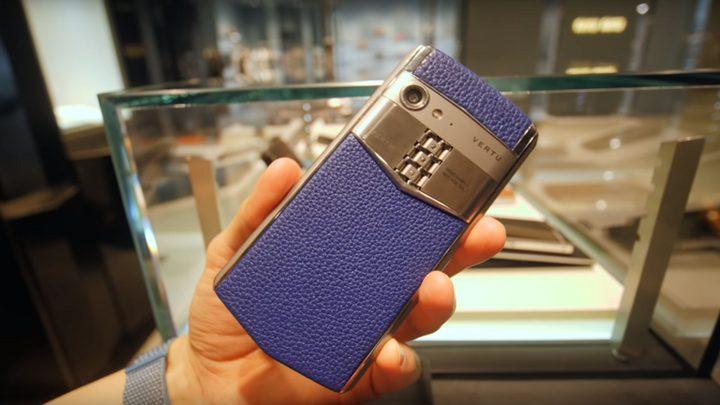 هاتف Vertu Aster P مخصص لرجال الأعمال
