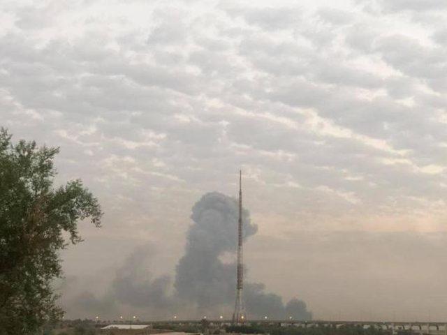 مصدر أمني عراقي: هجوم إسرائيلي استهدف معسكر الصقر ببغداد