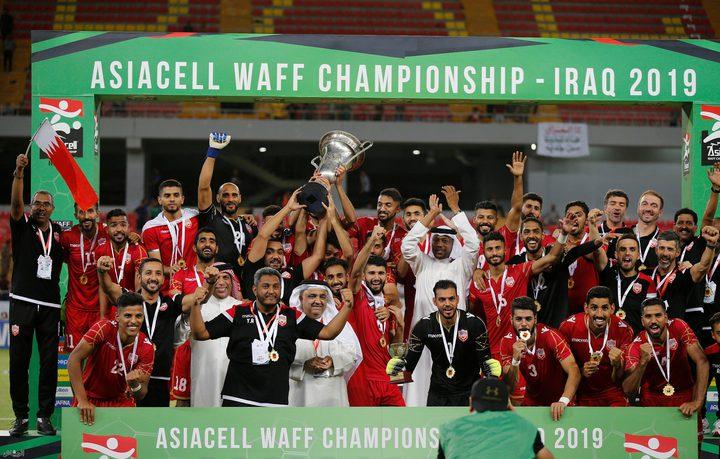 البحرين تتوج بلقب بطولة غرب آسيا