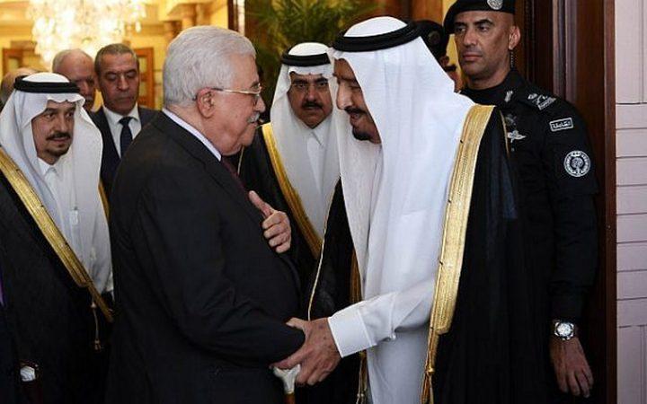 الرئيس عباس يهنئ الملك سلمان بنجاح موسم الحج