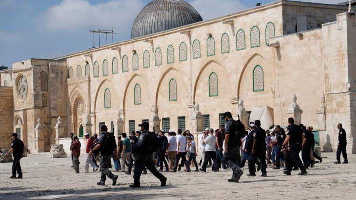 الأوقاف تدين ممارسات الاحتلال في المسجد الأقصى