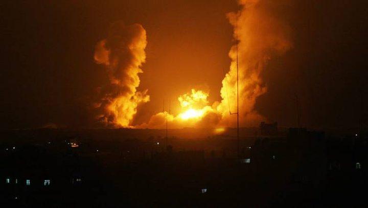 طائرات الاحتلال تقصف أهدافًا في قطاع غزة