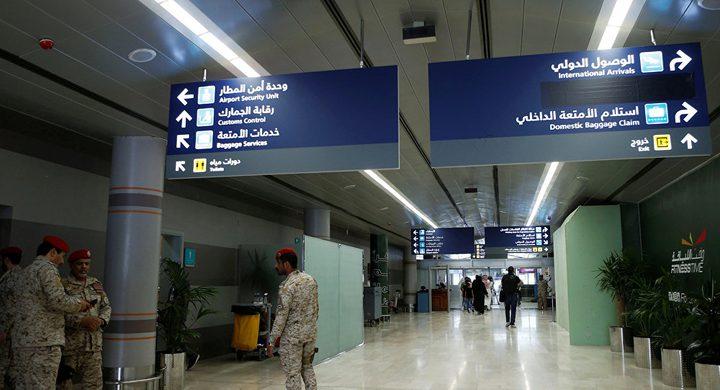 """""""الحوثيون"""" يهاجمون مطار أبها بالسعودية من جديد"""