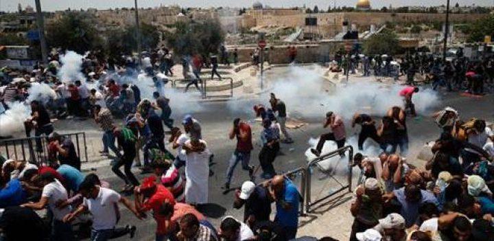 القائمة المشتركة :مايحدث بالأقصى هو رد طبيعي على سياسات الاحتلال