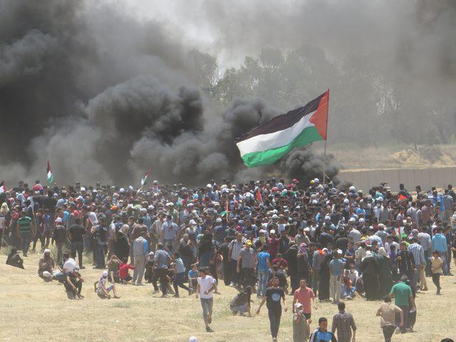 اصابات برصاص الاحتلال شرق قطاع غزة