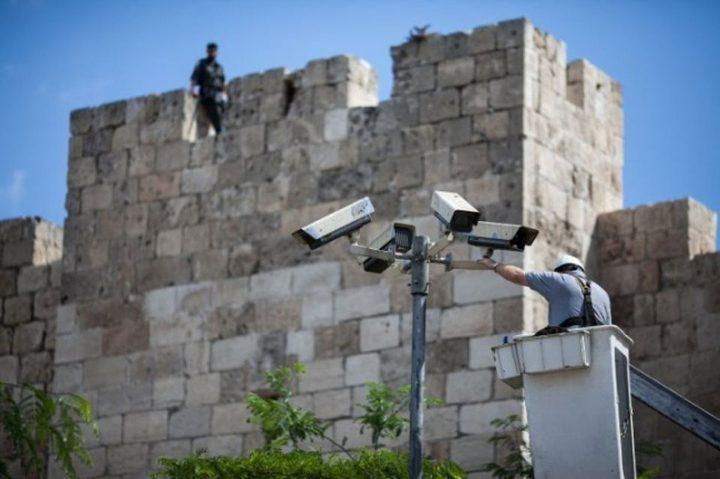 """""""م.ت.ف"""" كاميرات مراقبة على الطرق توفر الأمن للمستوطنين"""