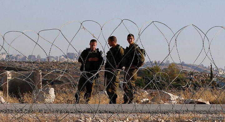 """الاحتلال يقرر وضع شبكة """"تمويه"""" حول قطاع غزة"""