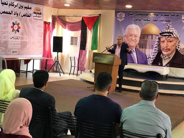 """وزير الثقافة يفتتح """"مخيم بين الركام نحيا"""" في وادي الحمص"""